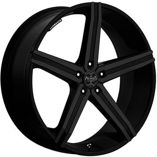 "24"" Versante ve228 Wheels Matte Black"