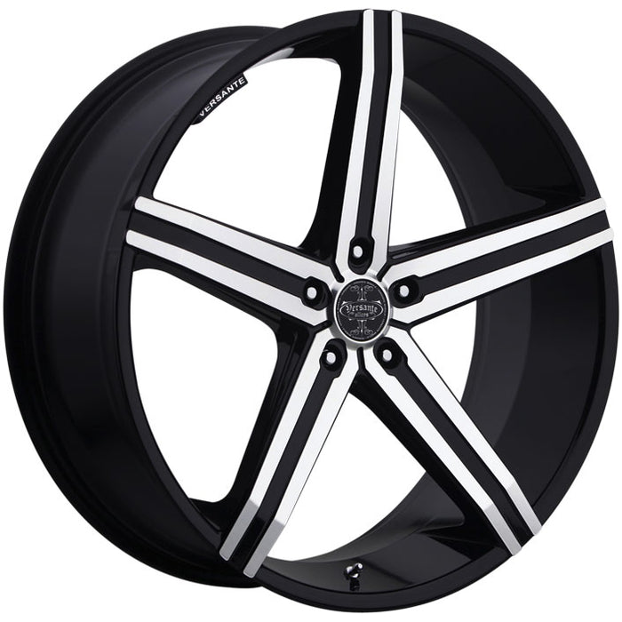 "24"" versante ve228 wheels black machine"