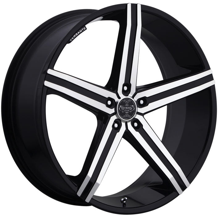 "22"" versante ve228 wheels black machine"