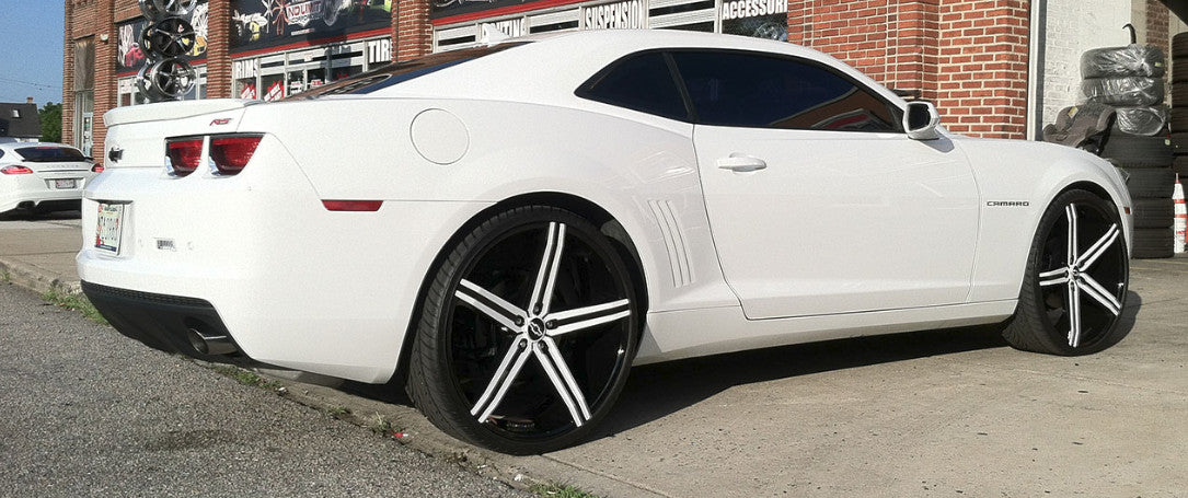 "20"" Versante ve228 Wheels Black Machine"