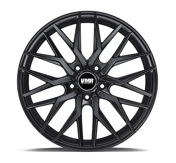 "18"" VMR V802 Wheels Crystal Black Buff"