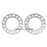 "8 Lug Wheel Spacer 8x6.50 8x165 8x170 (0.5"" 12mm)"