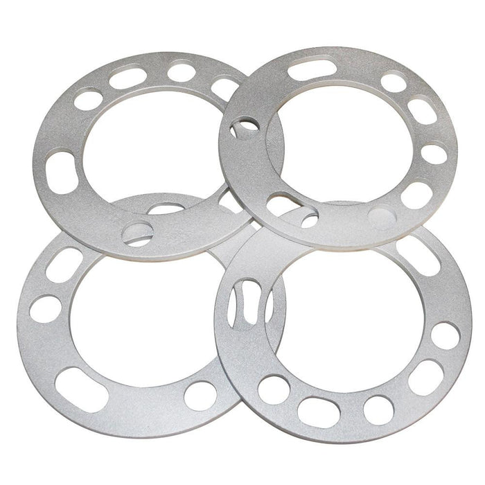 "5 Lug & 6 Lug Wheel Spacer (0.25"" 6mm) 5x5.5 5x135 5x139 6x5.5 6x135 6x139"