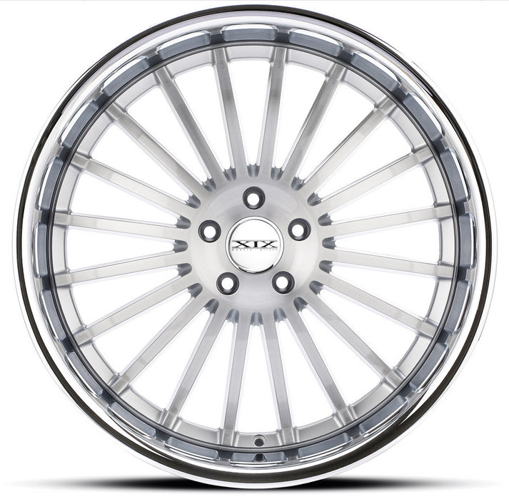 "20"" XIX x59 Wheels Silver Brushed Stainless Steel Lip"