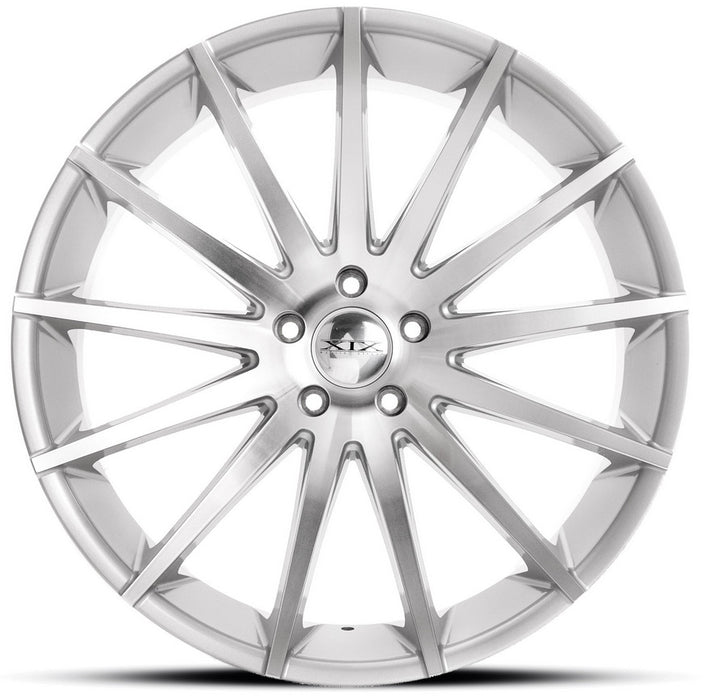 "22"" XIX x39 Wheels Silver Machined Face"