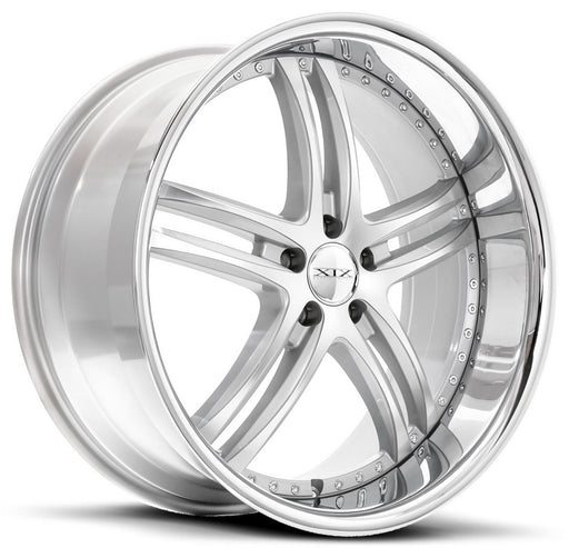 "19"" XIX x15 Wheels Silver Machined / Polished Lip"