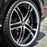 "20"" XIX x15 Wheels Black machined"