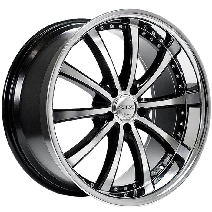 "20"" XIX x21 Wheels Black machined"