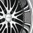 "20"" XIX x23 Wheels Gloss Black Machined / Stainless Steel Lip"