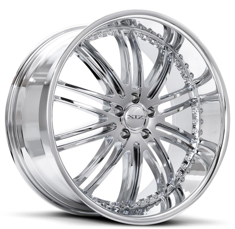 xix x23 wheels chrome