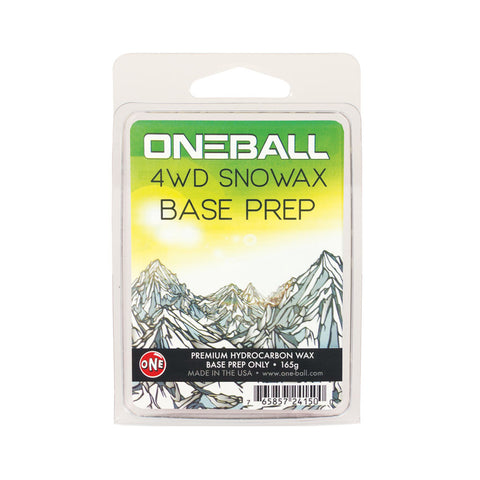 4wd base prep ski and snowboard wax - One Mfg - Oneball Snowboard Accessories