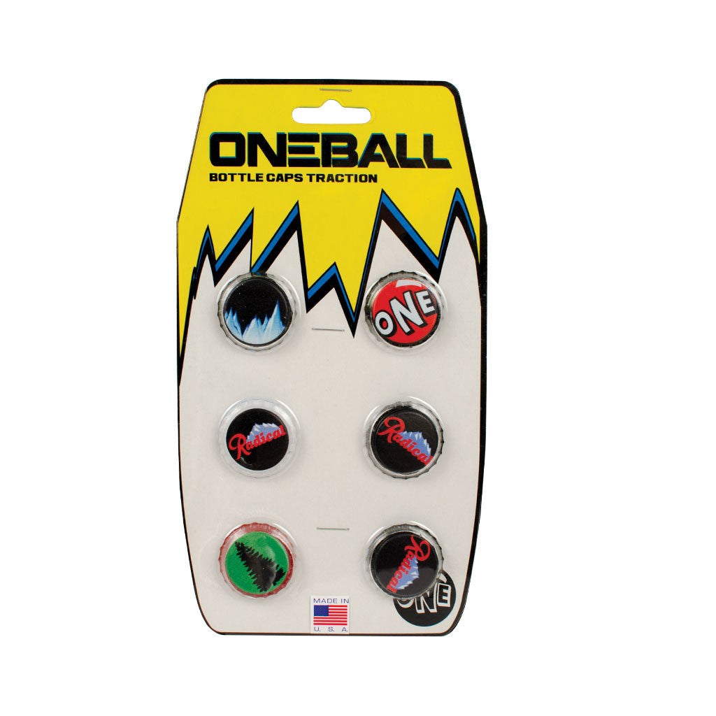 Bottle Caps - Snowboard stomp pad traction pad - Oneball Snowboard Accessories