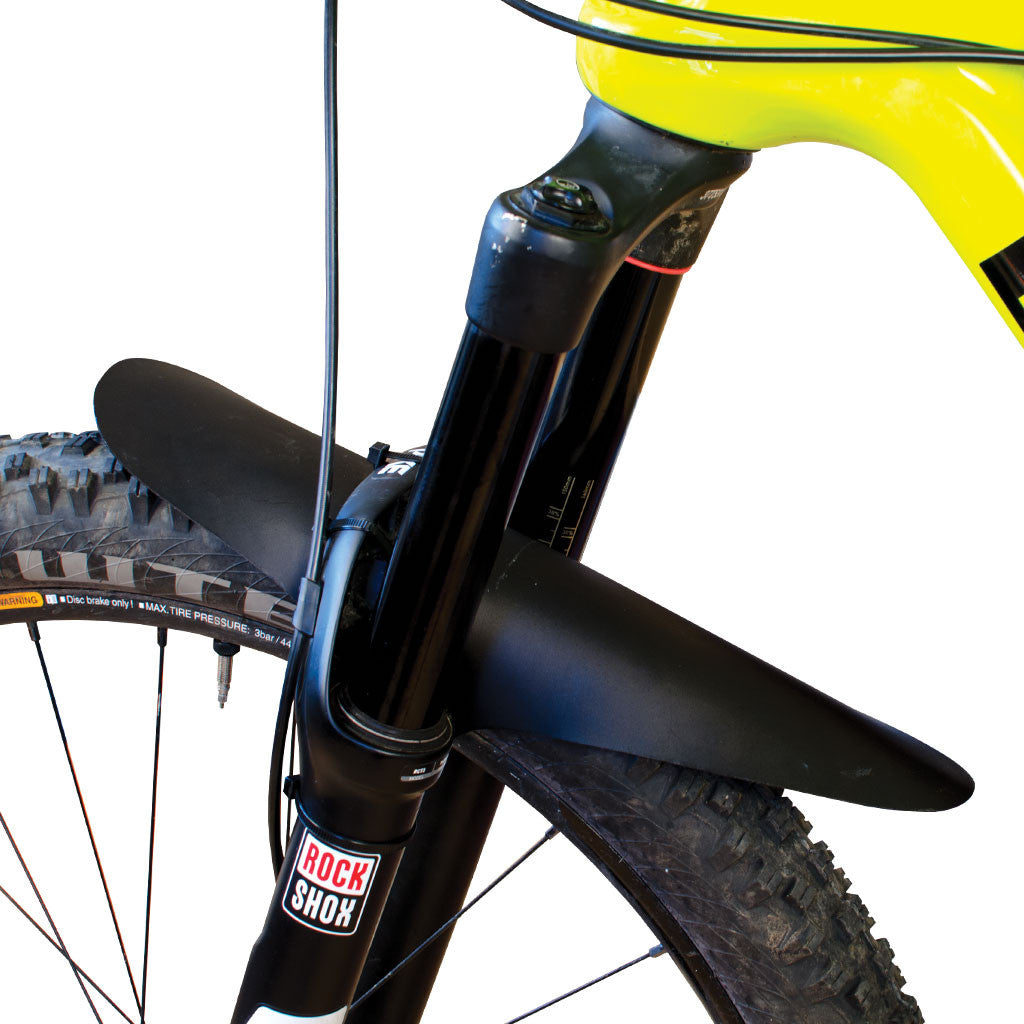 Large, Random Design, Random Colored, Mountain Bike Fork Fender