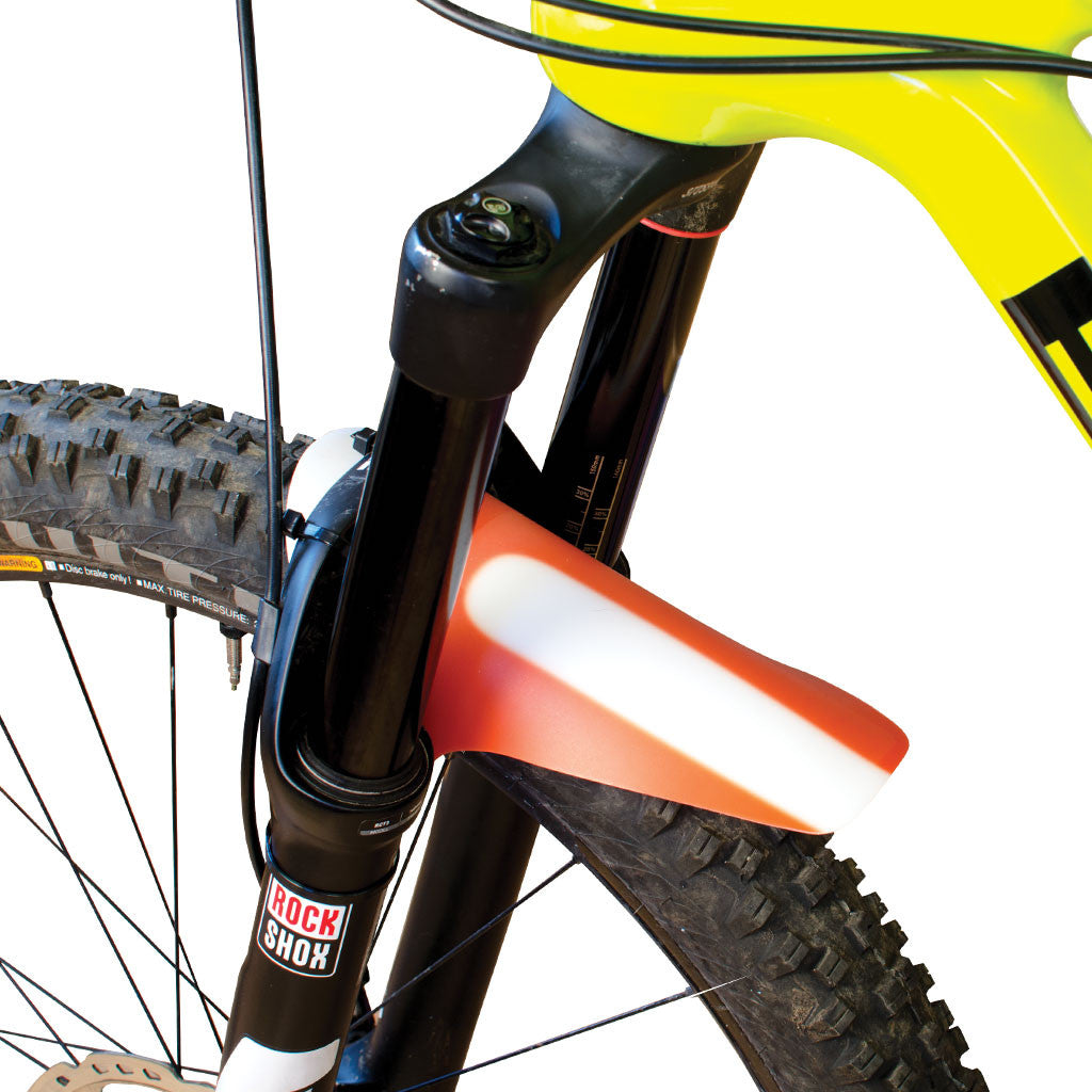 Small, Random Design and Colored Mountain Bike Fork Fender