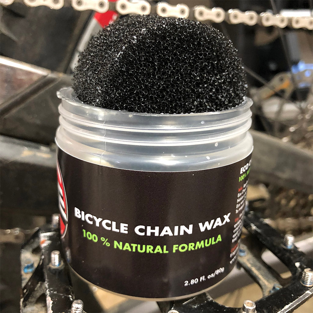 Bicycle Chain Wax 100% Natural Coconut Base  Quiet and Smooth drivetrain action
