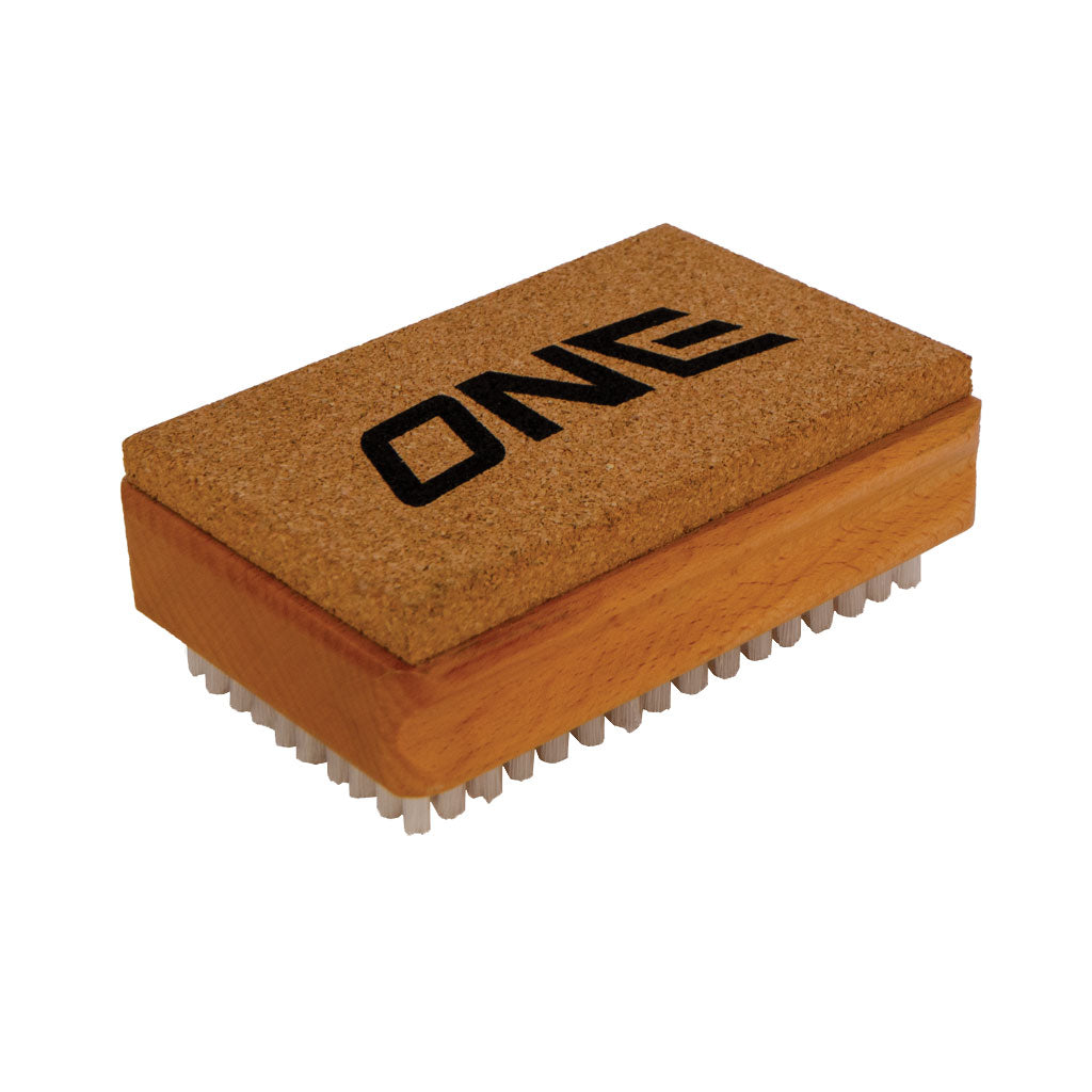 Nylon/Cork Waxing Brush Combo