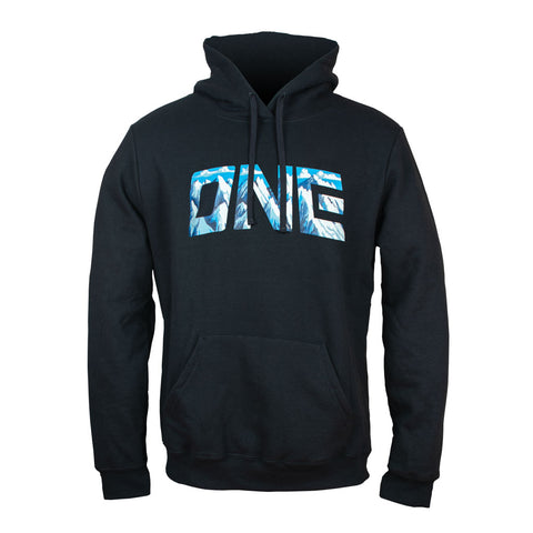 ONE MOUNTAIN GRAPHIC HOODED SWEATSHIRT