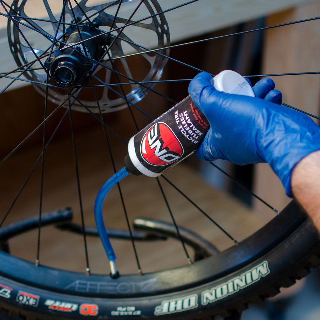 Bike tire tubeless sealant | One Mfg Bike