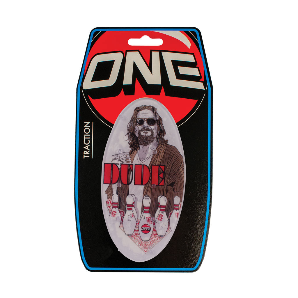 The Dude - Snowboard stomp pad traction pad - Oneball Snowboard Accessories