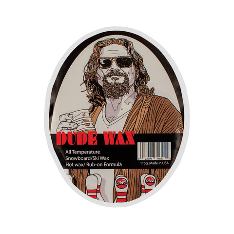 Beer Snowboard Wax