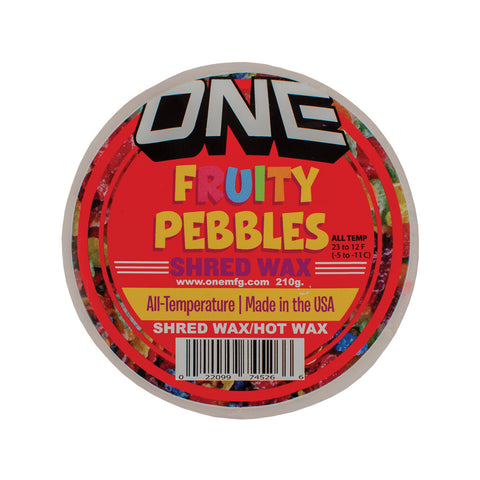 Fruity Pebbles Snowboard Wax - One Mfg - Oneball Snowboard Accessories