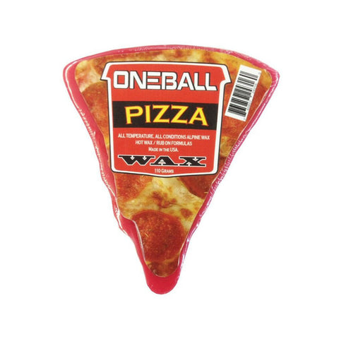 Pizza Ski and Snowboard Wax - One Mfg - Oneball Snowboard Accessories