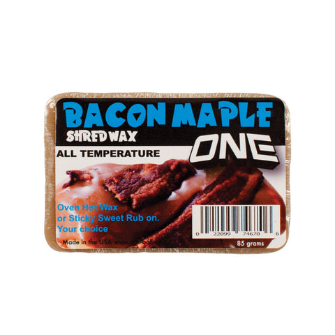Maple Bacon Bar Snow Wax