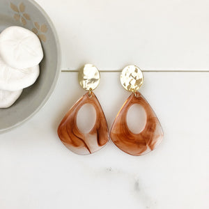 Statement Earrings. Acrylic Earrings. Acetate Earrings. Post Earrings. Dangle Earrings. Hoop Earrings. Gold Post Hoops. Acrylic Hoops. Gift.