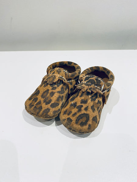 Leopard Moccs // 3 Toddler