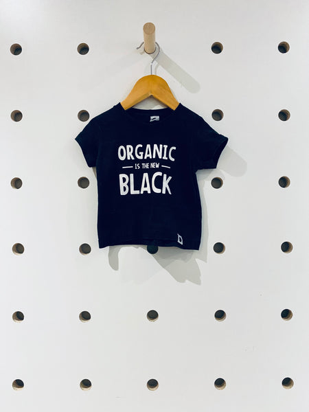 Organic is the New Black T-Shirt // 6-12M