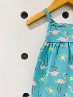Flamingo Sundress // 3-6M