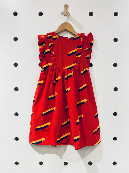 Red Otter Dress // 3Y