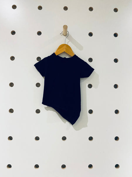 Asymmetrical T-Shirt // 0-6M