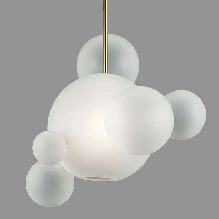 Bolle suspension lamp by Giopato & Coombes, White Light - ROMATTI