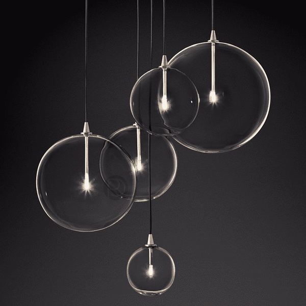 Pendant lamp Restoration Hardware Glass Globe Mobile Cluster - ROMATTI