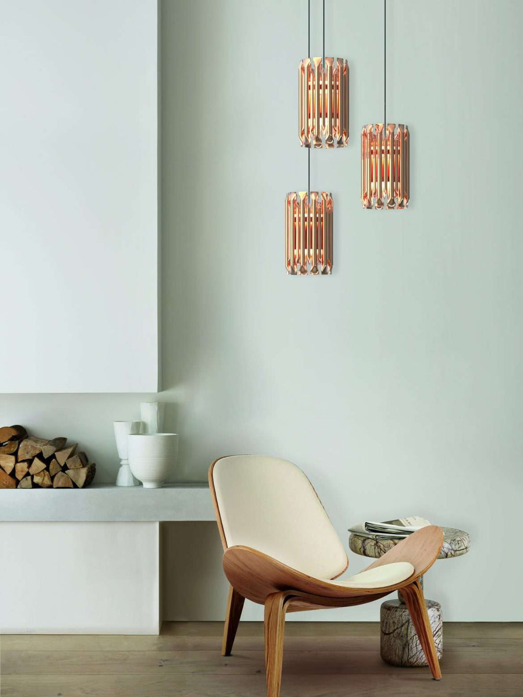 Merope pendant light - ROMATTI