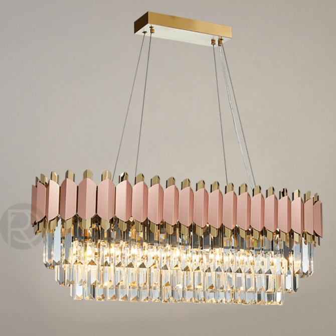 Chandelier LASNA LONG by Romatti