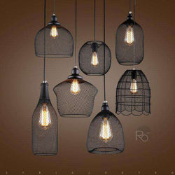 Pendant lamp Bird in a cage - ROMATTI