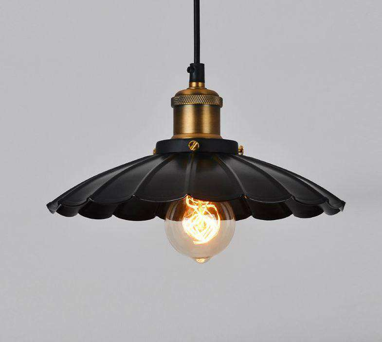 Grand pendant lamp Black - ROMATTI