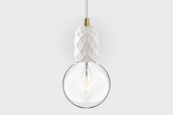 Pendant lamp Beton White Air LATITUDE