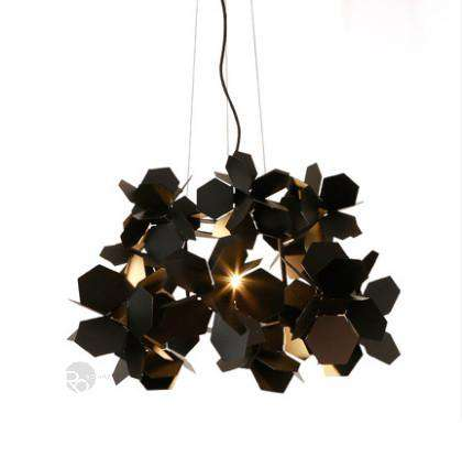 Designer lamp Black Flower - ROMATTI