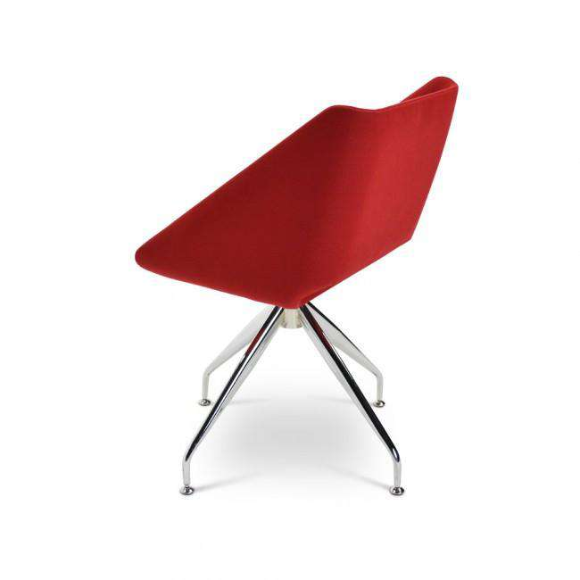 Designer chair Shelly Chair Red - ROMATTI