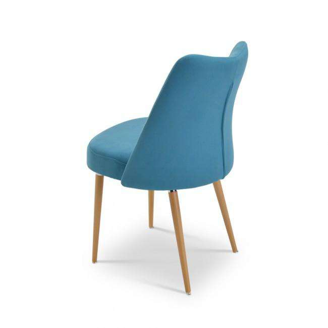 Designer chair Mindy Chair Blue - ROMATTI
