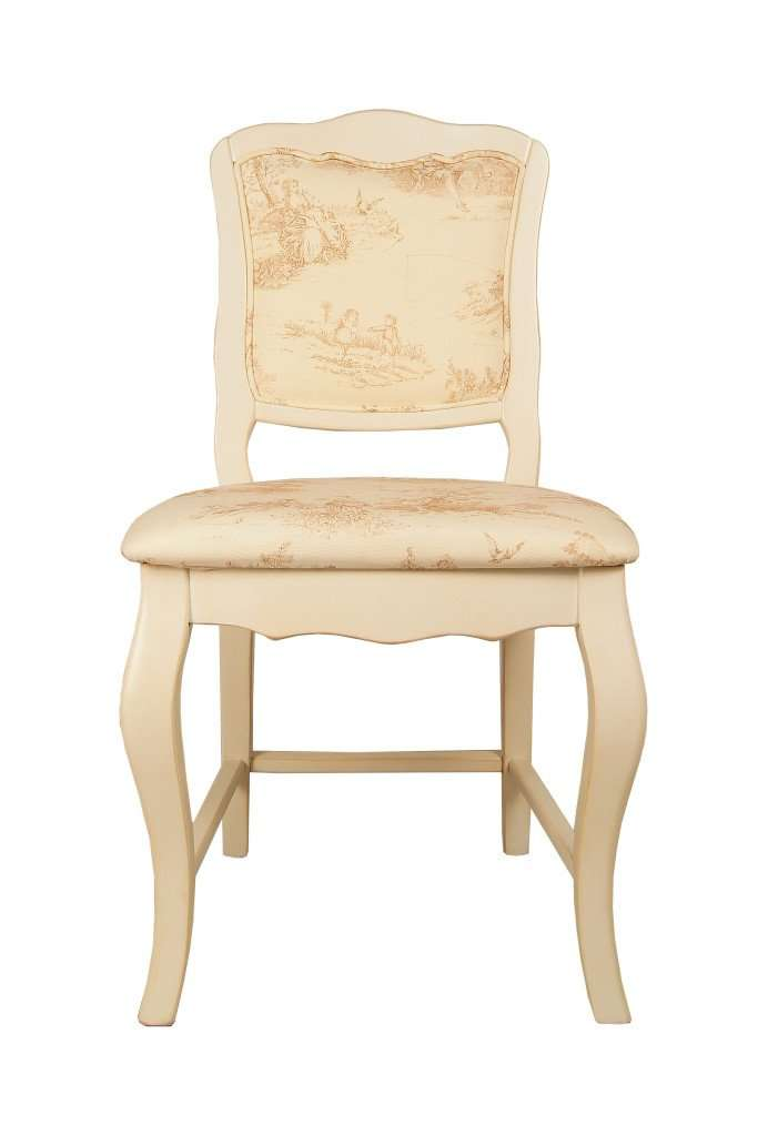 Leontina chair with upholstered seat - ROMATTI