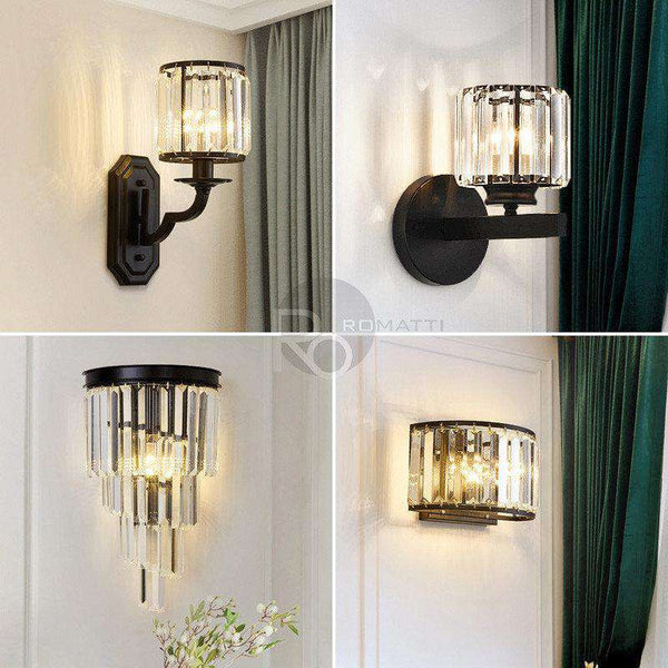 Wall lamp Femita view - ROMATTI
