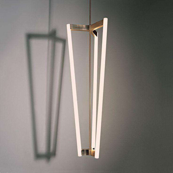 Pendant lamp Tube Chandelier by Michael Anastassiades - ROMATTI