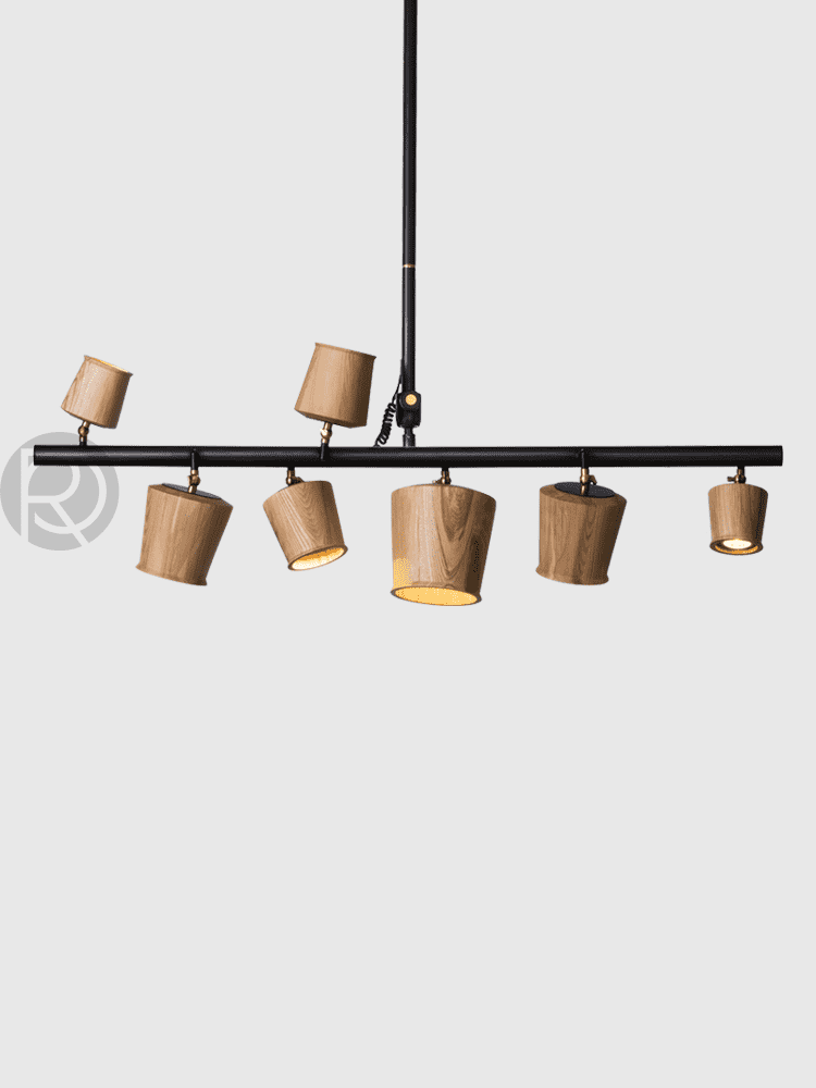 Pendant lamp Raw Steel - ROMATTI