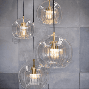 Pendant lamp Pleated Crystal - ROMATTI