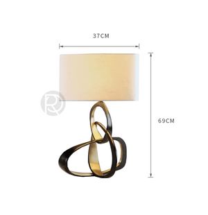 Table lamp HERVE by Romatti