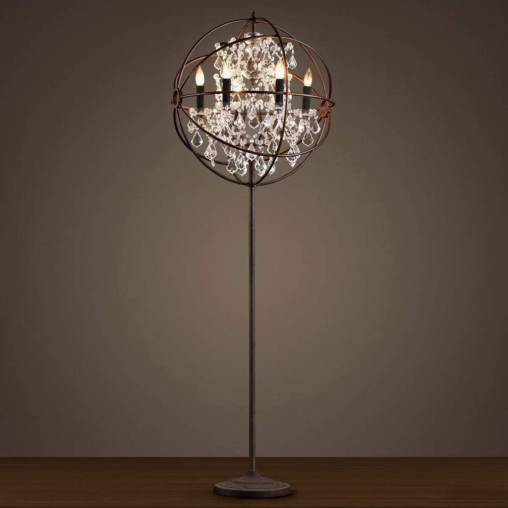 Floor lamp FOUCAULT'S ORB by Romatti